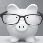 Dorky piggy bank