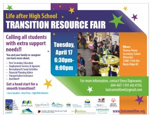 2018 LAST Transition Resource Fair Poster