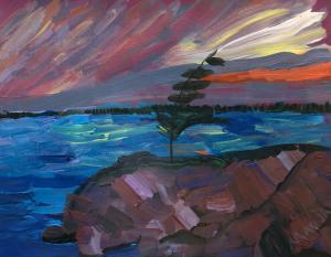 sunset-painting